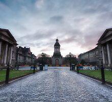 Trinity College, Dublin, Ireland by John-Robert Bridges