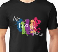 No Thank You!! (K-ON!!) Unisex T-Shirt