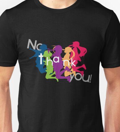 No Thank You!! (K-ON!!) Unisex T-Shirt
