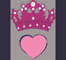 crown heart argyle Women's Tank Top