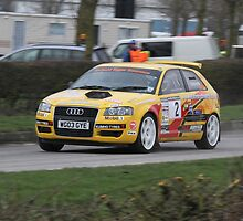 David Kynaston/Chris Beare - Audi A3 Quattro - K&R Mitsubishi Stages 2011 by MSport-Images