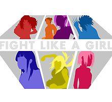 Fight Like A Girl by artsy-alice