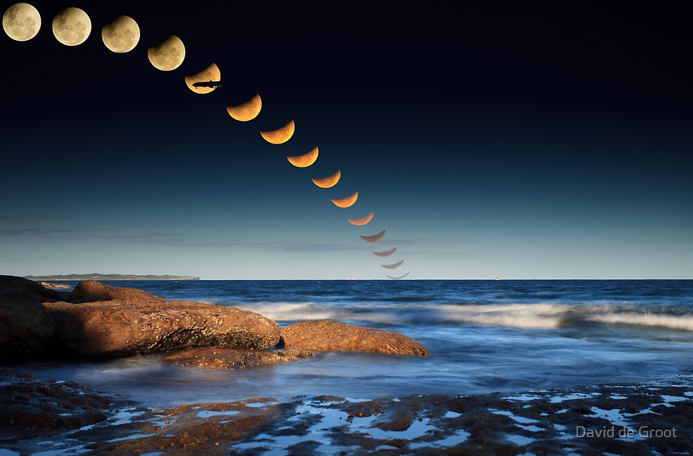 The December 2010 Summer Solstace Lunar Eclipse by David de Groot