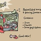 Zombie Noms by VenkmanProject