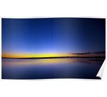 Dam Sunset Poster