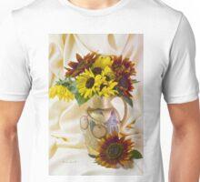 Multi Color Sunflowers Unisex T-Shirt