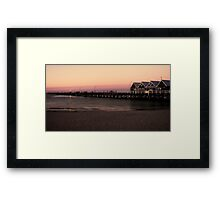 The Famous Busselton Jetty Framed Print
