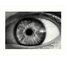 Eye contact Art Print