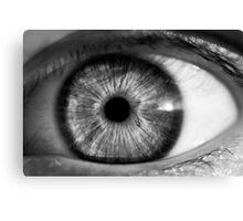 Eye contact Canvas Print