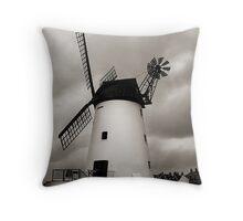 Lytham Windmill Throw Pillow