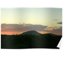 The Tip Of East Mount Barren Poster