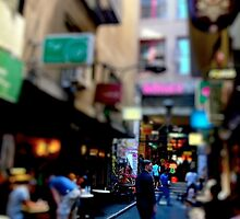 Off Flinders Lane by Vince Russell