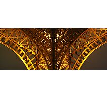Eiffel Tower Perspective Photographic Print