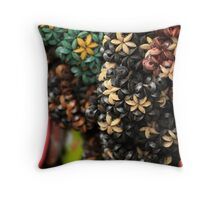 Coconut Palm Trinkets Throw Pillow