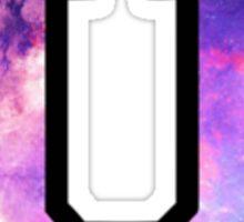 Union College Trippy Galaxy Sticker