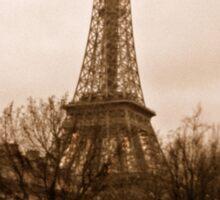 Eiffel Tower at dusk Sticker