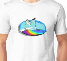 Rainbow Fox Unisex T-Shirt