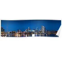 Melbourne Docklands Panorama Poster