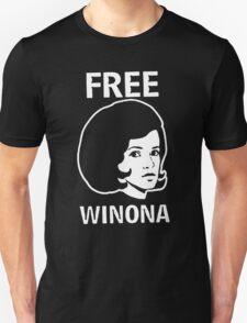 FREE WINONA Ryder DEPP brooklyn Hip TMZ NYC Hollywood Celebrity T-Shirt