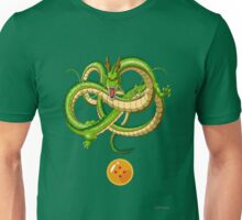 DBZ - Shenron and 4-star ball (renewal) Unisex T-Shirt