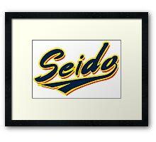 Seido Practice Shirt Logo Framed Print