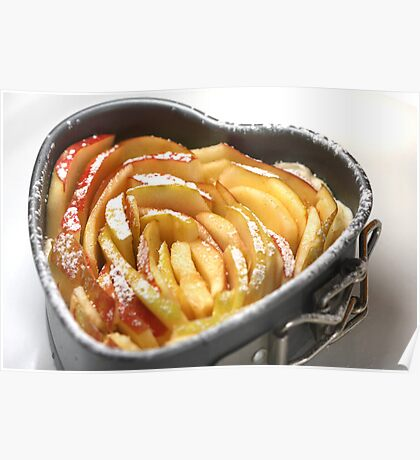 Apples and Milles Feuilles Poster