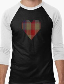 00241 K-9 Tartan Men's Baseball ¾ T-Shirt