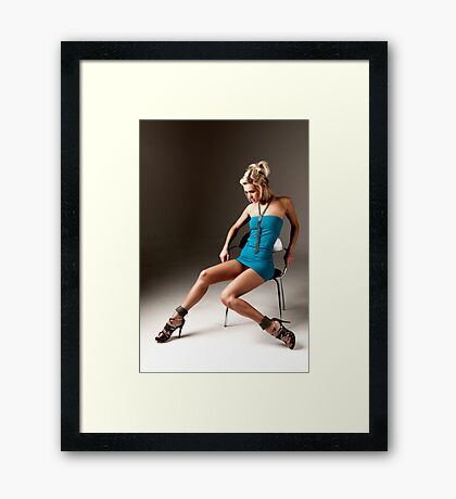 Emma Kate Dawson - Chair 1 Framed Print