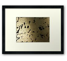 The Hidden Land - Bridge Shadow Above Silver Creek Framed Print