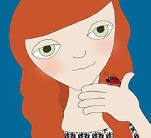 Lady Bug Lady by Cherie Balowski