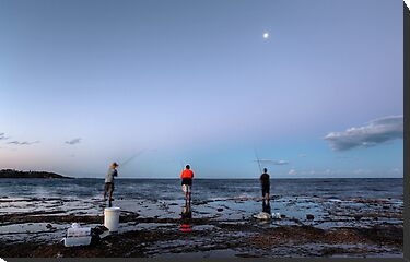 Three Fishermen by Bluesoul Photography