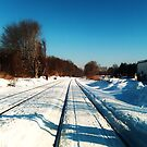 Winter on the Tracks by DearMsWildOne