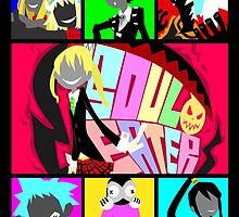 Let's Get Neon (Soul Eater) by artsy-alice