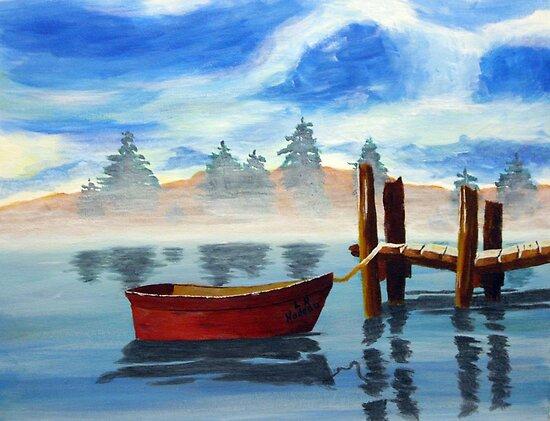 Misty Calm by Lawrence Nadeau by CoastalCarolina