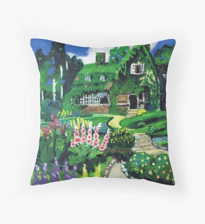 Kiki's Garden Throw Pillow