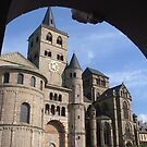Framed Trier Cathedral by Elena Skvortsova