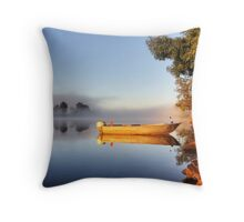 Tranquil Anchorage  Throw Pillow