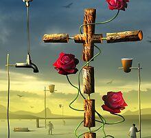 As Rosas e a Cruz. by Marcel Caram