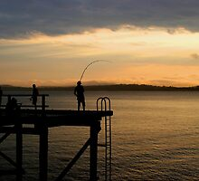 Evening Catch by Christopher Meder Photography