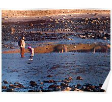 A low tide afternoon Poster