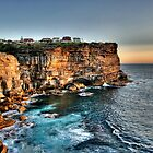 Cliffs of Paradise by Bluesoul Photography
