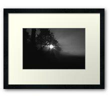 Mystified  Framed Print