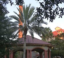 Gazebo & Smokestack, Flagler College by Gordon Taylor