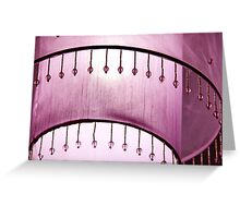 Pink patterns Greeting Card
