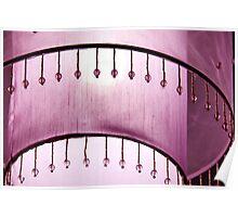 Pink patterns Poster