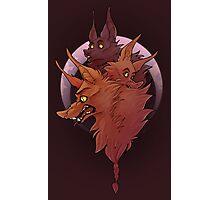 Werewolf Mash Photographic Print
