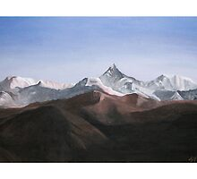 View from Nepal by Sandra  Vincent