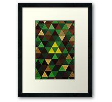 Triforce Quest Framed Print