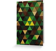 Triforce Quest Greeting Card