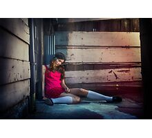 Street Doll  Photographic Print